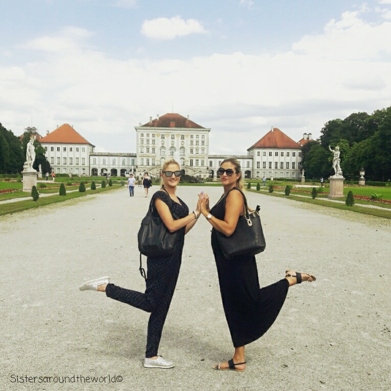 travel-Nymphenburg Palace-sisters around the world